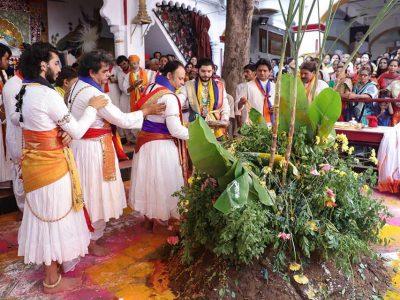 Govardhan Puja at Shree Kalyanraiji haveli 8 nov
